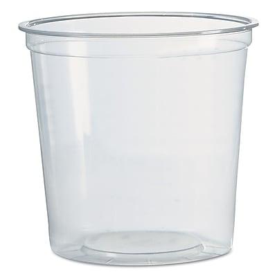 WNA AMERICAN PLASTIC Deli Containers, 24 Oz.