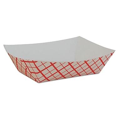 SOUTHERN CHAMPION Paper Food Baskets, Red & White