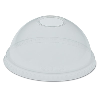 SOLO CUP COMPANY Dome-Top Cold Cup Lids 1524380
