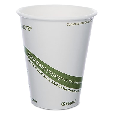 ECO PRODUCTS World Art Hot Drink Cups, 8 Oz.