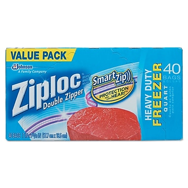 DRACKETT PROFESSIONAL Zipper Freezer Bags