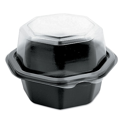 SOLO CUP COMPANY Hinged-Lid Cold Food Containers 1524140