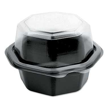 SOLO CUP COMPANY Hinged-Lid Cold Food Containers