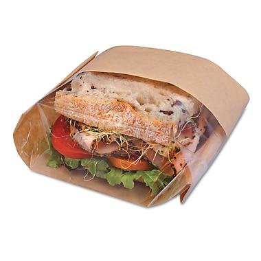 BAGCRAFT Double View Sandwich Bags