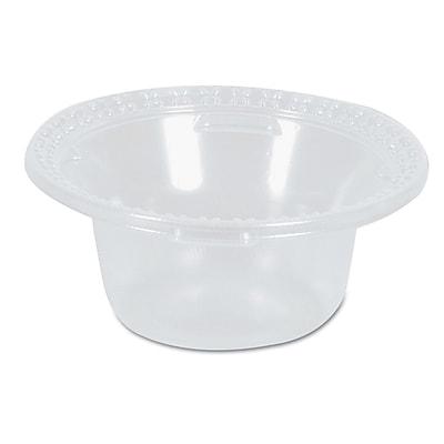 DIXIE/FORT JAMES Plastic Dessert Dishes