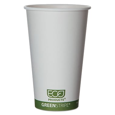 ECO PRODUCTS World Art Hot Drink Cups, 16 Oz.