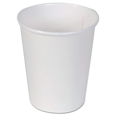 Dixie® Paper Hot Cup by GP PRO, 10 oz., White, 1000/Carton (2340W)