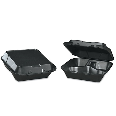 GENPAK Foam Hinged Carryout Container 1523236
