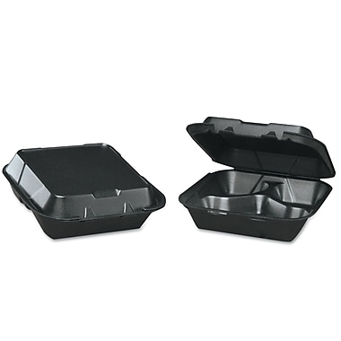 GENPAK Foam Hinged Carryout Container