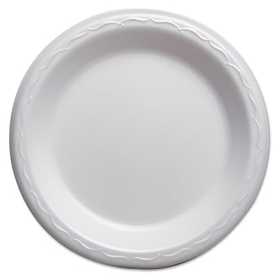 GENPAK Elite Laminated Foam Dinnerware Plate, 7