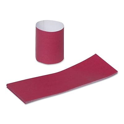 ROYAL PAPER PRODUCTS Napkin Bands, Burgundy