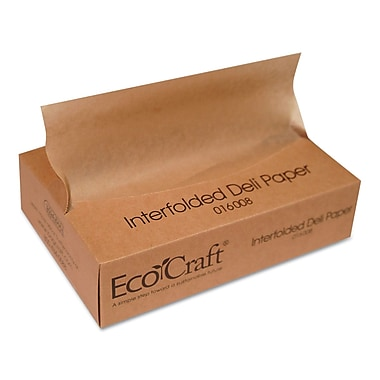 BAGCRAFT EcoCraft Interfolded Soy Wax Deli Sheets