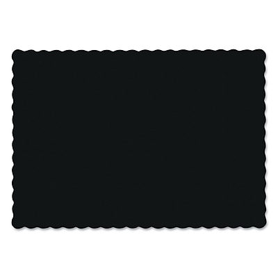 HOFFMASTER Scalloped Edge Paper Placemats