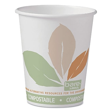 SOLO CUP COMPANY Paper Hot Cups, 10 Oz.
