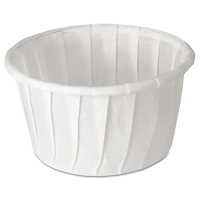 SOLO CUP COMPANY Souffle Portion Cups, 1.25 Oz.