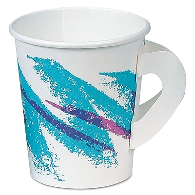 SOLO CUP COMPANY Hot Paper Cup with Handle