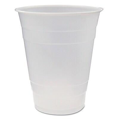 PACTIV REGIONAL MIX CNTR Translucent Plastic Cups, 16 Oz.