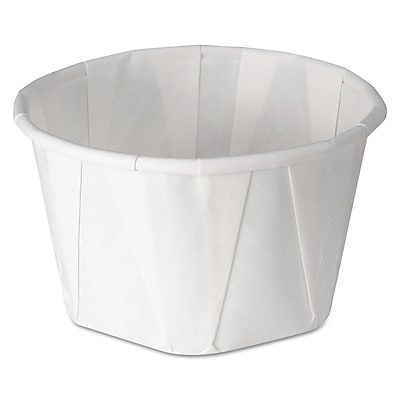 SOLO CUP COMPANY Souffle Portion Cups, 3.25 Oz.