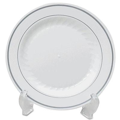 WNA AMERICAN PLS MASS WH Plastic Dinnerware Plate