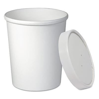 SOLO CUP COMPANY Flexstyle Double Poly Food Combo Pack, 32 Oz.