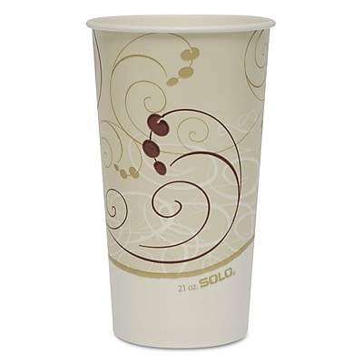 SOLO CUP COMPANY Double Poly Coated Paper Cold Cups 1522689