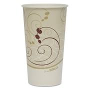 SOLO CUP COMPANY Double Poly Coated Paper Cold Cups