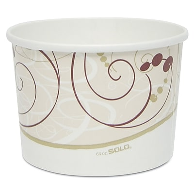 SOLO CUP COMPANY Baskets Double Poly Paper Food Container