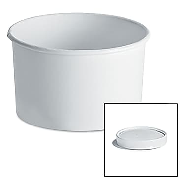 HUHTAMAKI FOODSERVICE Food Container With Vented Paper Lid