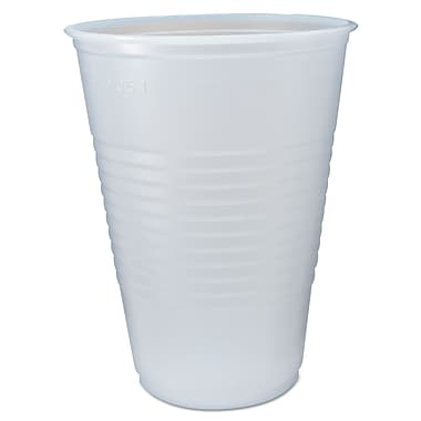 FABRI KAL Ribbed Cold Drink Cup, 14 Oz.
