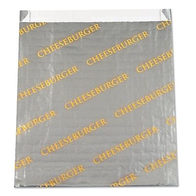 BAGCRAFT Foil Cheesburger Paper Bag