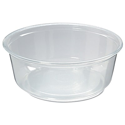 FABRI KAL Microwavable Deli Containers, 8 Oz.