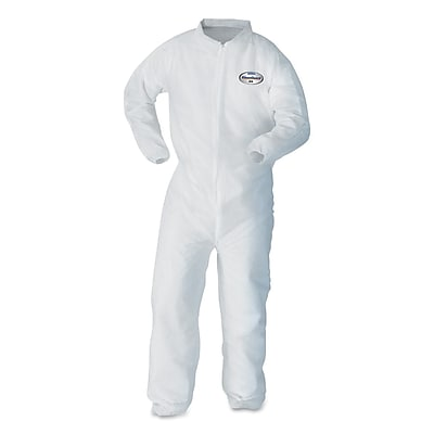 KIMBERLY CLARK APPAREL Breathable Particle Protection Coveralls, Medium