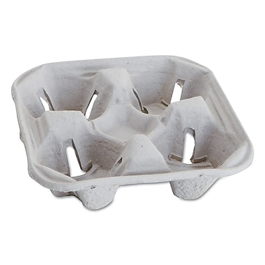 BARNES PAPER CO. Carryout Cup Trays