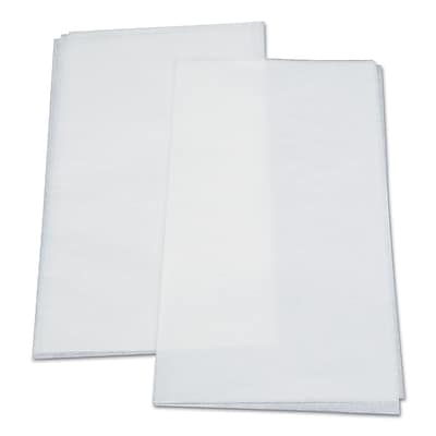Dixie® Glenvale® Interfolded Medium Weight Dry Waxed Deli Papers by GP PRO, White, 1000/Carton (G10)