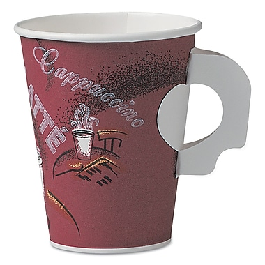 SOLO CUP COMPANY Bistro Paper Hot Cups With Handle