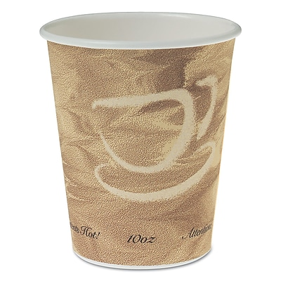 Solo® Poly Paper Hot Cups, 10 Oz, 1000/CT
