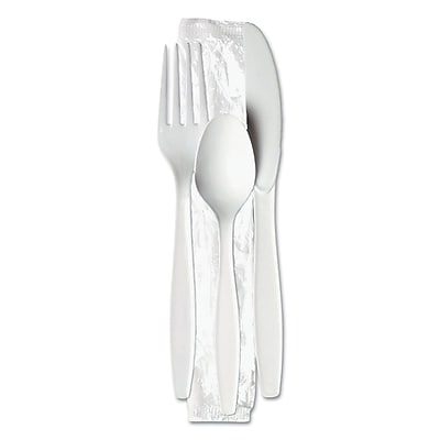 DIXIE/FORT JAMES Wrapped Cutlery Kit