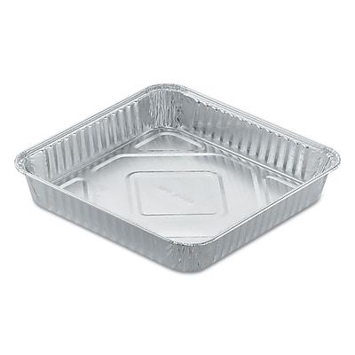 HANDI-FOIL OF AMERICA Aluminum Square Cake Pan, 8