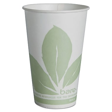 SOLO CUP COMPANY Treated Wax Compositable Paper Cups