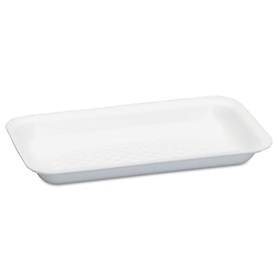 GENPAK MEATTRAYS SEBRING Supermarket White Foam Trays