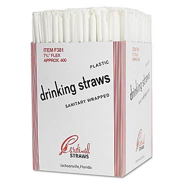 CARDINAL PRODUCTS Flex Straws