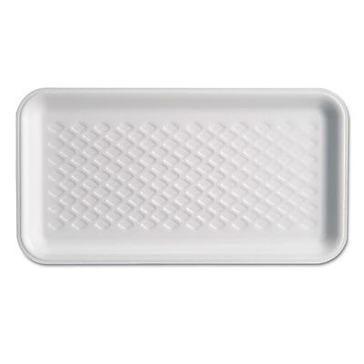 GENPAK White Foam Meat Tray