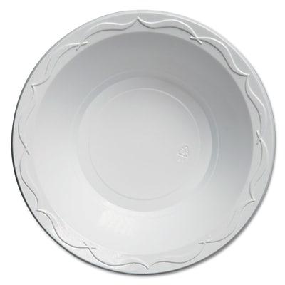 GENPAK Round Plastic Bowl, 24 oz.