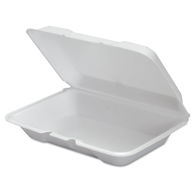GENPAK Shallow All Purpose Hinged Container