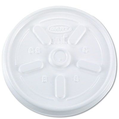DART CONTAINER CORP Plastic Hot Cup Lids 1524572