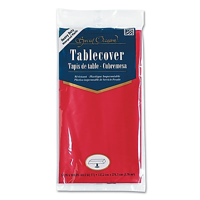 CONVERTING INC Plastic Tablecovers