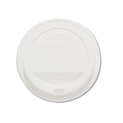 SOLO CUP COMPANY Traveler Drink-Thru Lids