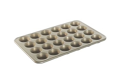 Nordic Ware Petite Muffins Pan; Metallic