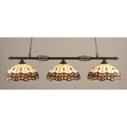 Toltec Lighting Elegante 3-Light Billiard Light