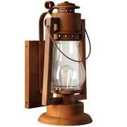 Sutter's Mill Pioneer Series 1-Light Outdoor Wall Lantern; 25'' H x 12'' W x 11.5'' D